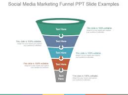 Funnel Powerpoint Template Free Social Media Marketing Funnel Ppt Slide Examples