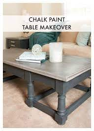 annie sloan chalk paint table makeover