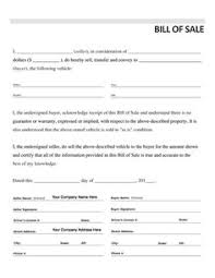 Legal Bill Of Sale Free Printable Motorcycle Bill of Sale Form Template - bill of sale ...