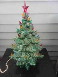 Atlantic Mold Ceramic Christmas Tree Lights Vintage Atlantic Mold Green Ceramic Electric Christmas Tree Tabletop Tree Atlantic Mold Christmas Tree Christmas Holiday Tree Lights