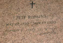 "Tobe Lee ""Pete"" Robbins, Jr (1920-1980) - Find A Grave Memorial"