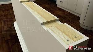 granite countertop support brackets granite brackets support bracket flat wall by the granite notch view wood granite countertop support