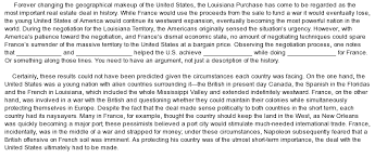 louisiana purchase essay louisiana purchase essay