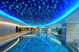 ceiling lights galaxy ceiling light remote led decorative glow in the dark fiber optic twilight star