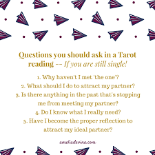 tarot reading so can you see the difference between the basic questions and the deeper ones can you imagine what the answers would be for you if you get