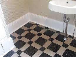 charming vct tile for floor decoration ideas charming bathroom floor decoration with black and white