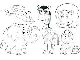 Animal Jam Coloring Pages Pets Cute Pdf Safari Zoo To Print Amazing