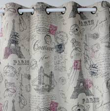 Paris Bedroom Curtains Photo   1