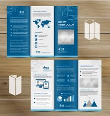 Brochure Trifold Template Free A4 Brochure Free Template Free Vectors Stock For Free