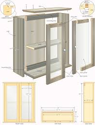 Slimline Wall Cabinet Bathroom Cabinet Plans Ted Mcgrath Teds Woodworking Guide To