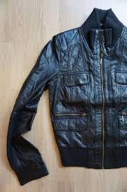 zara trf lambskin leather biker er jacket size xs extra small 2 2 sur 10