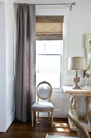 gray linen curtain and french chair curtains grey fabric nz for dining room white linen curtains