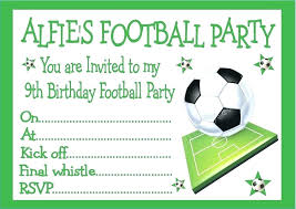 Soccer Party Invite Free Printable Soccer Birthday Party Invitations From