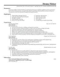 Salon Assistant Resume Sample Best of Hairdresser Resume Hairdresser Resume Sample Useful Hair Design
