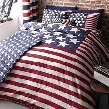 red white blue bedding dining room made dorm and home reversible striped quilt uk