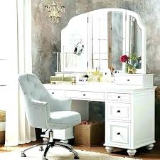 makeup vanity bench w fancy white set metal stool ikea