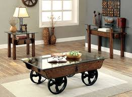 industrial looking furniture. penny industrial looking coffee table set furniture h
