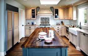 butcher block island inspired butcher block vogue other metro beach style kitchen remodeling ideas with blue butcher block island