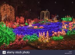 Bellevue Christmas Lights Botanical Garden Usa Washington Bellevue Christmas Light Stock Photos Usa