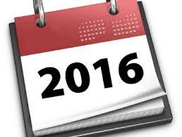 Resultado de imagen para 2016