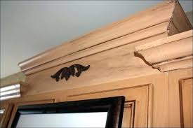 install crown molding how to install crown molding on kitchen cabinets full size of ceiling trim