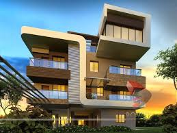 3D Exterior Rendering Creative Decoration Awesome Inspiration Ideas