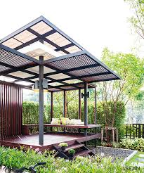 What is a pavilion Cedar The Designer Placed Large Freeform Plants Such As Patana Oak Millettia Brandisiana And Calabashin The Rear To Relieve The Rigidity Of The Pavilion Institutrakyatorg Wooden Pavilion Archives Living Asean Inspiring Tropical