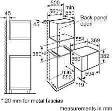 Microwave diagram neff h12we60n0g built in microwave oven stainless steel