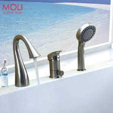nice design bathtub faucets with hand shower faucet handheld hole deck mounted tub held head and