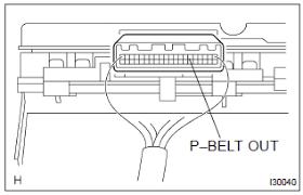 toyota corolla repair manual seat belt warning lamp for front Wiring-Diagram Alfa Romeo Spider 2 inspect passenger seat belt warning lamp assy