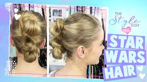 Rey Hair Style the style edit star wars rey hair tutorial disney channel 2485 by wearticles.com