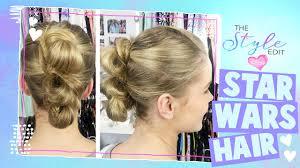 Rey Hair Style the style edit star wars rey hair tutorial disney channel 2485 by stevesalt.us