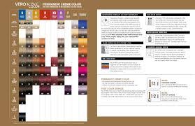 Joico Verocolor Color Chart
