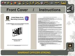 Senior Warrant Officer Letter Of Recommendation Konel