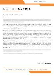 Cover Letter Font Cover Letter For Head Waiter Mycvfactory