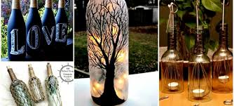 How To Decorate Old Bottles 60 DIY Projects For Old Glass Bottles Glass bottle Bottle and 2