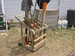 56 wheeled cart ideas garden cart
