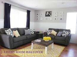 Navy Blue And Gray Living Room Decor Home Office Decorating Ideas