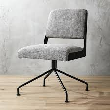 office chair picture. Rue Cambon Grey Tweed Office Chair Picture