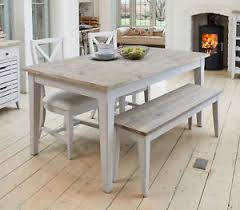 image is loading benson grey painted furniture extending dining table two