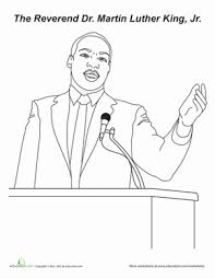 Small Picture 10 Martin Luther King Jr Printables Educationcom