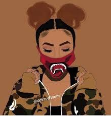 Dope Girl Cartoon Wallpapers - Top Free Dope Girl Cartoon Backgrounds -  WallpaperAccess