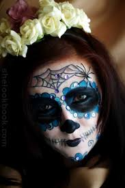 mexican sugar skull makeup tutorial on day of the dead