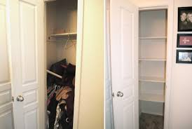almost empty closet. Small Closet Makeover Almost Empty N