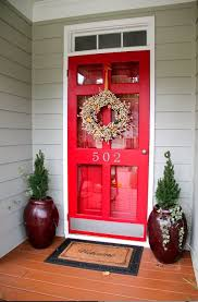 colored storm door what if they were contrasting colors yellow and purple