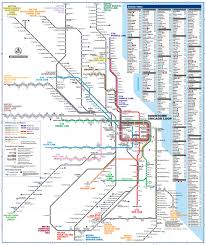 official map chicago regional transportation  transit maps