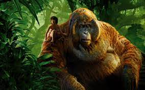 Wallpaper The Jungle Book 2016, boy and ...