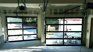 glass garage door cost doors clear new ideas commercial with insulated s
