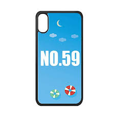 Apple Phone Number Amazon Com Lucky No 59 Number Name Iphone Xs Max Cover