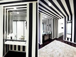 Black And White Striped Bedroom Ideas 3